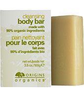 Origins Organics Cleansing Body Bar