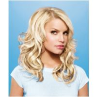 hairdo by Jessica Simpson 10 Piece Human Hair Clip-In System