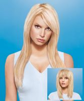 hairdo by Jessica Simpson Fringe - Human Hair Bangs