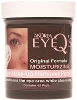 Andrea Original Formula Moisturizing Eye Make-Up Remover Pads