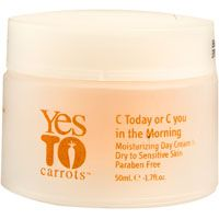 Yes to Carrots C Today or C You in the Morning Moisturizing Day Cream, for Dry to Sensitive Skin