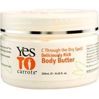 Yes to Carrots C Through the Dry Spell Deliciously Rich Body Butter