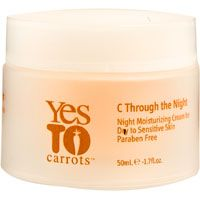 Yes to Carrots C Through the Night, Night Moisturizing Cream