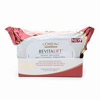 L'Oréal Paris RevitaLift Radiant Smoothing Wet Cleansing Towelettes