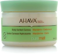 Ahava Body Sorbet Caress