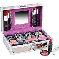 Jasmine La Belle 36 pc Cosmetic Set with Train Case