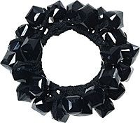 Karina Black Hard Candy Ponytail Holder