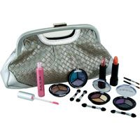 Jasmine La Belle Cosmetics 21pc Cosmetic Set with Handbag