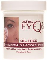 Andrea Oil-Free Eye Make-Up Remover Pads