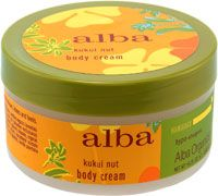 Alba Kukui Nut Body Cream