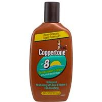 Coppertone SPF 8 Sunscreen Tanning Lotion