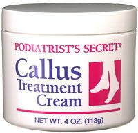 Podiatrist's Secret Callus Treatment Cream