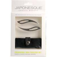 Japonesque Ergonomic Mini Tweezer Set