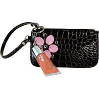 Jasmine La Belle Cosmetics Mini Wristlet with Lip Gloss