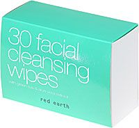 Red Earth Facial Cleansing Wipes