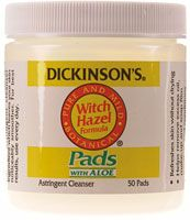 Dickinson's Witch Hazel Pads