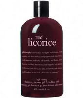 Philosophy Red Licorice High Foaming Shampoo, Shower Gel & Bubble Bath