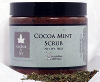 Cactus & Ivy Cocoa Mint Scrub