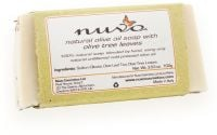 Nuvo Cosmetics Natural Olive Oil Soap with Olive Tree Leaves
