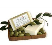 Nuvo Cosmetics Natural Olive Oil Soap with Basil