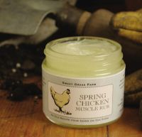Sweet Grass Farms Spring Chicken Muscle Rub