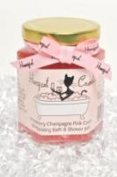 Honeycat Cosmetics Honeycat Strawberry Champagne Pink Caviar Moisturizing Bath and Shower Jelly