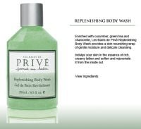 Prive Replenishing Body Wash
