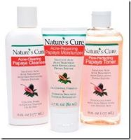 Nature's Cure Acne-Clearing Papaya Cleanser