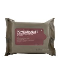 Korres Natural Products Pomegranate Cleansing and Makeup Removing Wipes