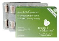 Beaute de Maman Dietary Herbal Supplement for Pregnancy Related Nausea