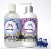 The Mineral Owl Calming Baby Mineral Infused Hair & Body Wash