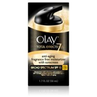 Olay Total Effects Fragrance-Free Moisturizer With Sunscreen Broad Spectrum SPF 15