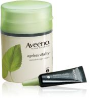 Aveeno Ageless Vitality Elasticity Recharging System - Night