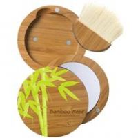 Physicians Formula Bamboo Wear Bamboo Compact, Mirror & Brush