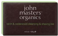 John Masters Organics Birch & Cedarwood Cleansing & Shaving Bar