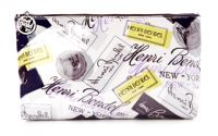 Henri Bendel Heritage Label Large Makeup Bag