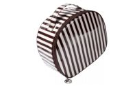 Henri Bendel Centennial Stripe Beauty Train Case