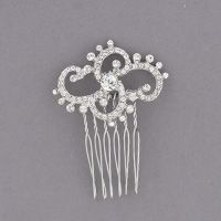 Bride's Head Revisited Swarovski Crystal Comb