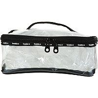 Ulta Clear Train Case Cosmetic Bag