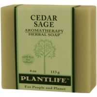 Plantlife Cedar Sage 100% Pure & Natural Aromatherapy Herbal Soap
