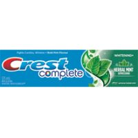 Crest Complete Multi-Benefit Whitening + Herbal Mint Expressions - Extreme Herbal Mint