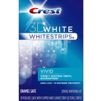 Crest 3D White Whitestrips Vivid Teeth Whitening System