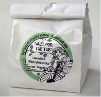 Essential Journeys Salt for the Tub Lavender with Wildcrafted Arnica Oil