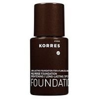 Korres Natural Products Wild Rose Foundation with SPF 20