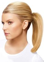 HairDo by Jessica Simpson Straight Mid-Length Bump Up Pony