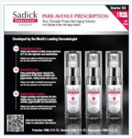 Sadick Dermatology Group Park Avenue Prescription Starter Kit
