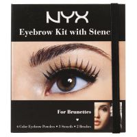 NYX Cosmetics NYX Eyebrow Kit with Stencil
