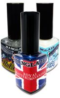 ManGlaze Royale 3-Way ManGlaze SAPPHIRE BLUE NAIL POLISH, HOTMESS & MAYONNAISE
