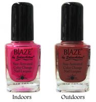Blaze Nail Polish Blaze Nail Brights Color Changing Lacquer