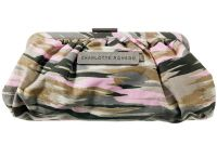 Charlotte Ronson Camo Clutch Makeup Bag